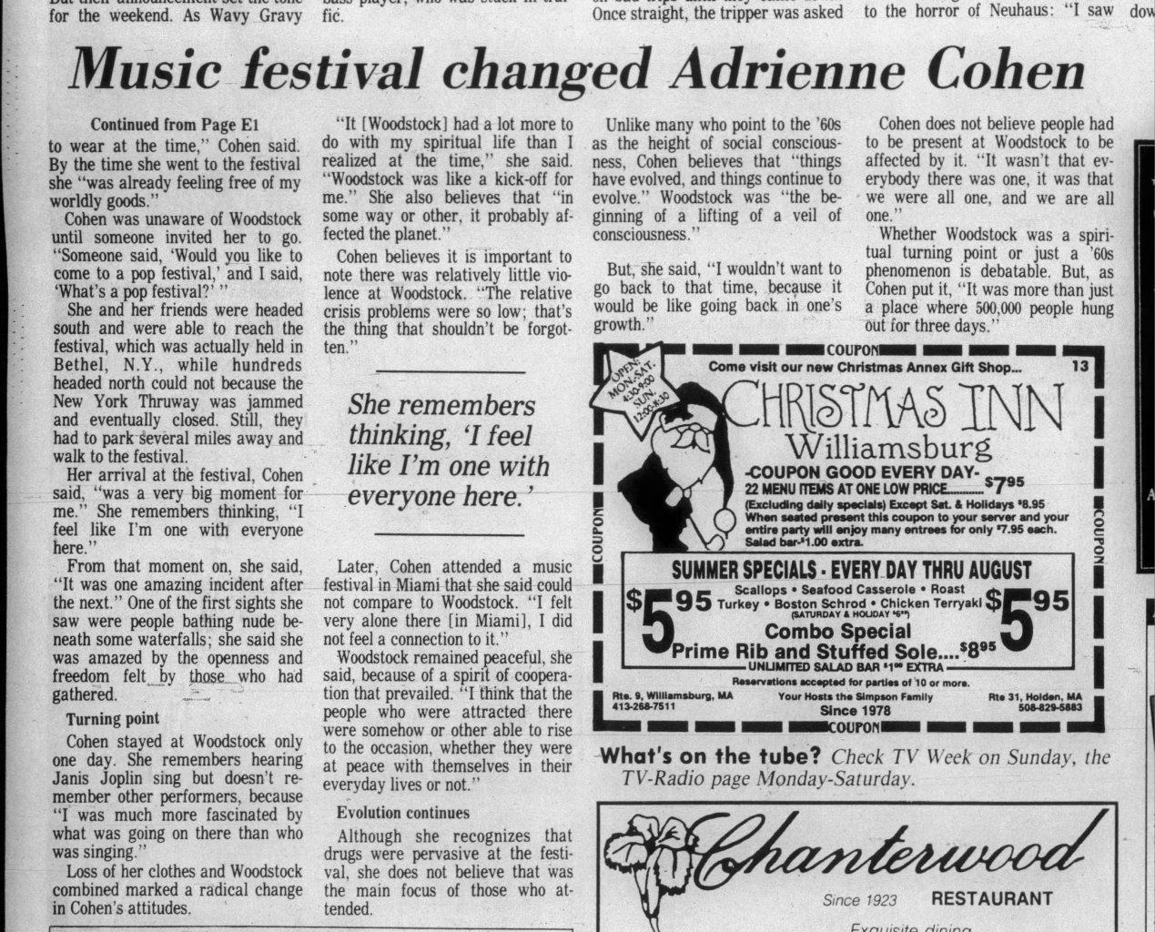 The Berkshire Eagle Sun Aug 6 1989 1